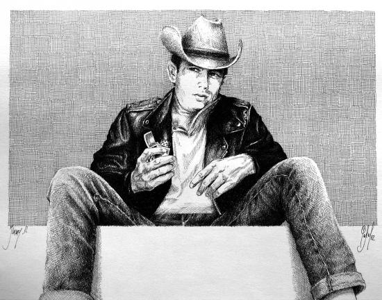 James Dean par Pastis